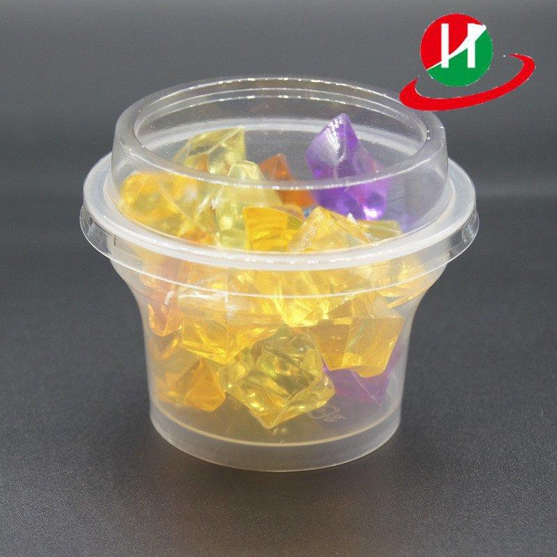 3-Ounce Mini Plastic Disposable Portion Cups Jello Shot Cup Containers Sauce Cups Souffle Cups with Lids for Shots, Salad