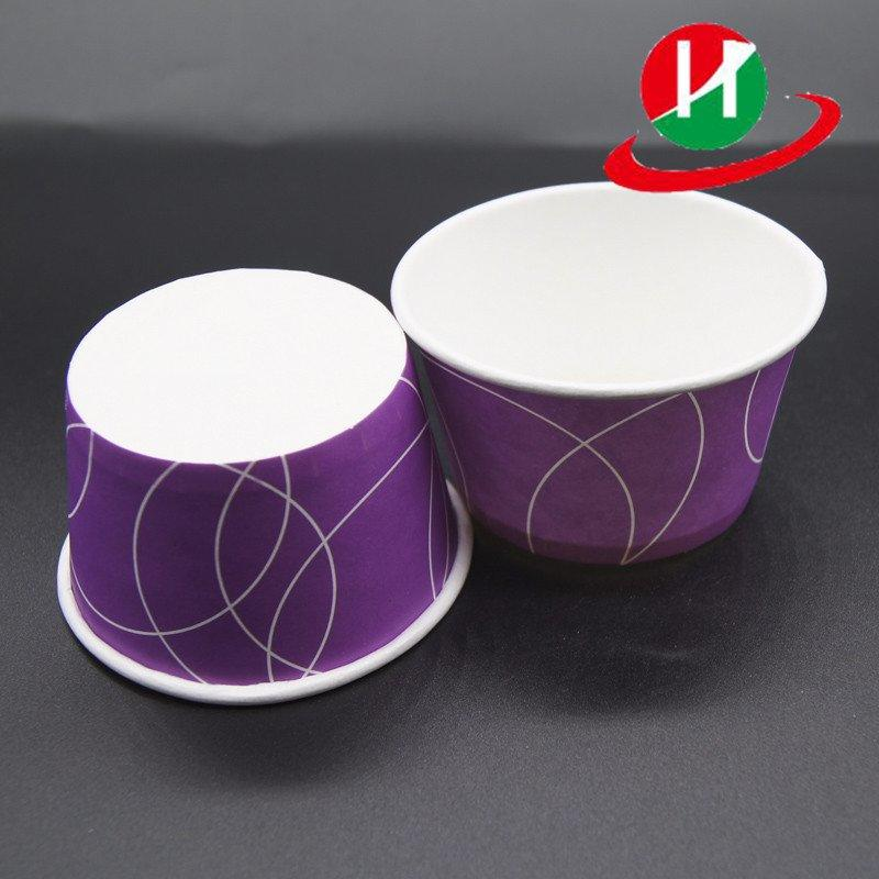 Custom paper ice cream tubs baking muffin wrapper HoChong
