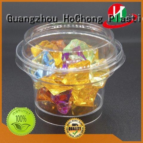 HoChong foodgrade plastic plastic dessert cups wedding breakfast