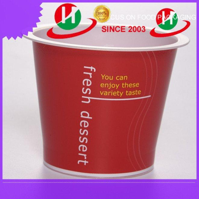 clear plastic dessert cups with lids same HoChong Brand plastic dessert cups