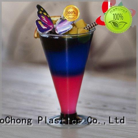 HoChong wine perfect plastic cups goblet cups