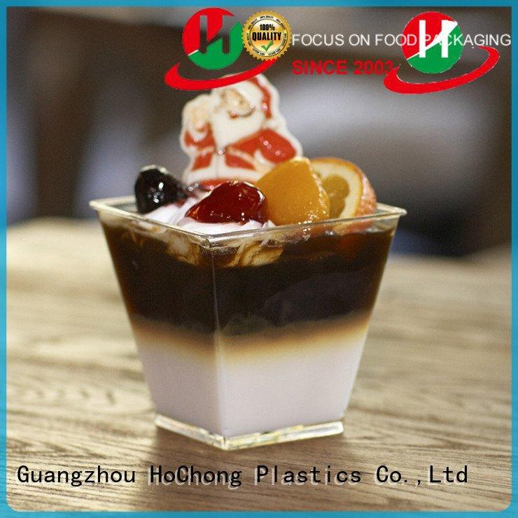 clear plastic dessert cups with lids 3oz shots reusableplastic container Bulk Buy