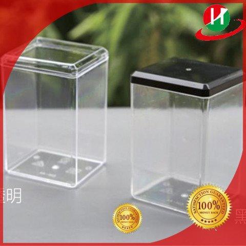 Hot plastic jars with lids sandwich HoChong Brand
