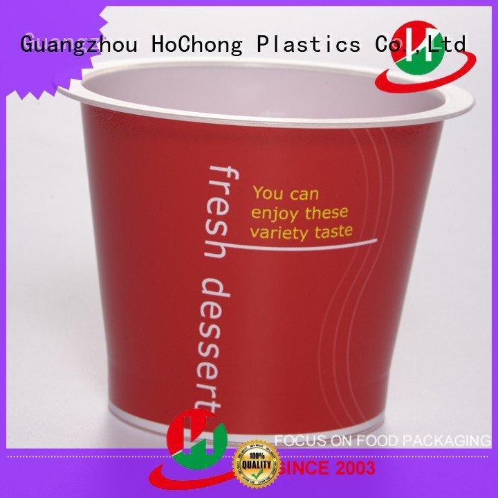 OEM clear plastic dessert cups with lids lids jars cap plastic dessert cups