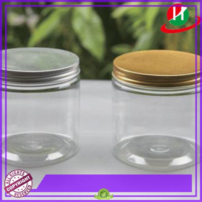 multipurpose spice plastic jars with lids HoChong Brand