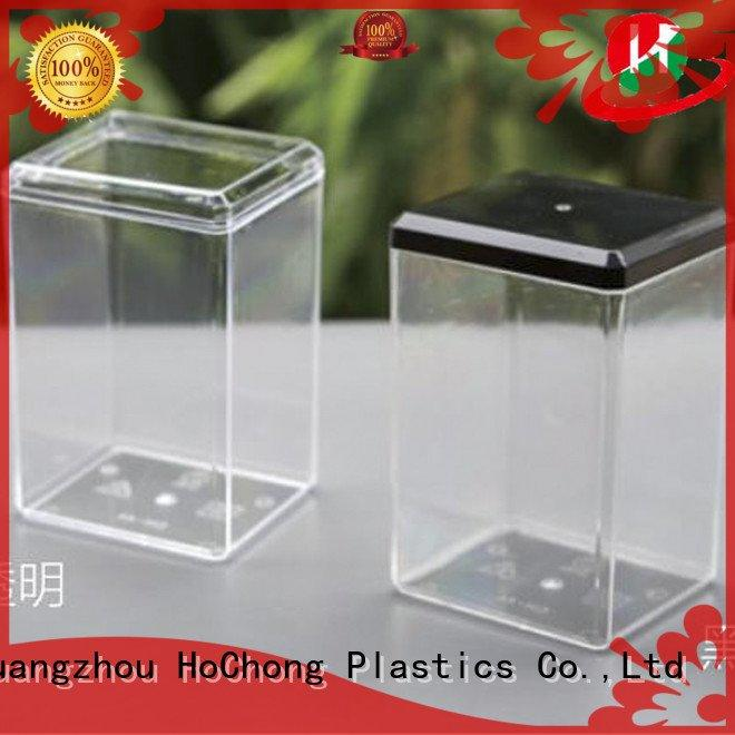 lightweight plastic HoChong plastic jars with lids