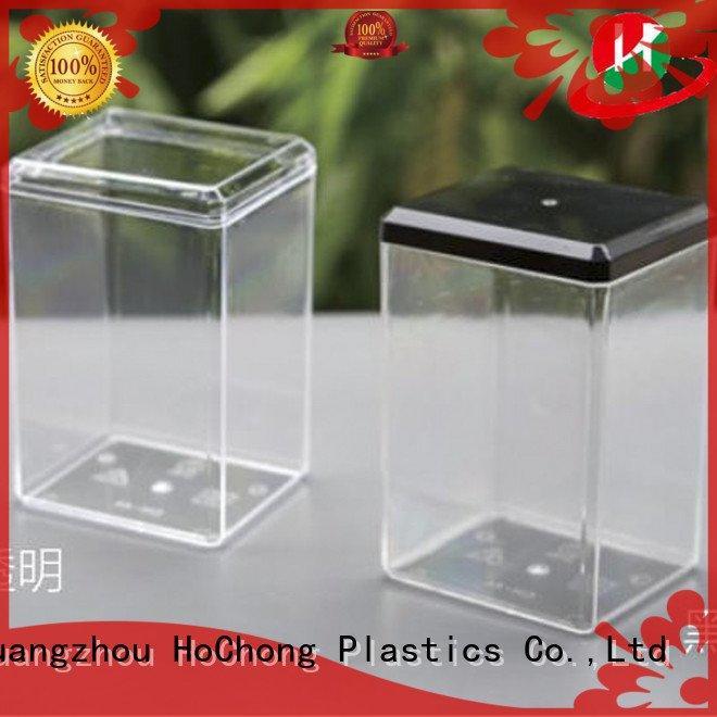 lightweight plastic HoChong plastic jars with lids