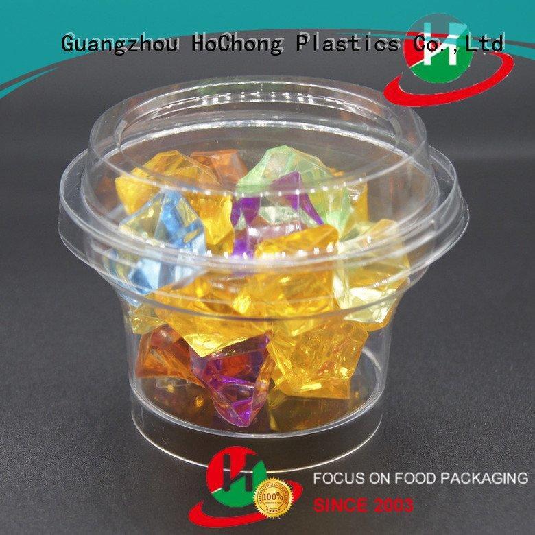 clear plastic dessert cups with lids flutes 5oz jars lids