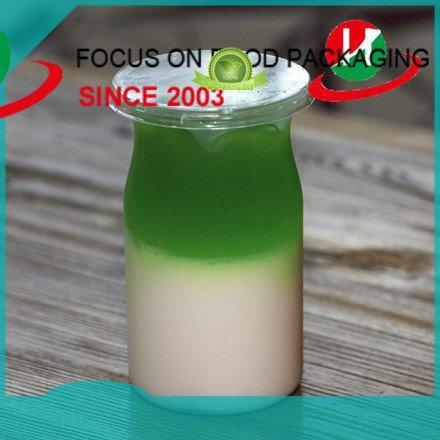 Custom jars plastic dessert cups short clear plastic dessert cups with lids