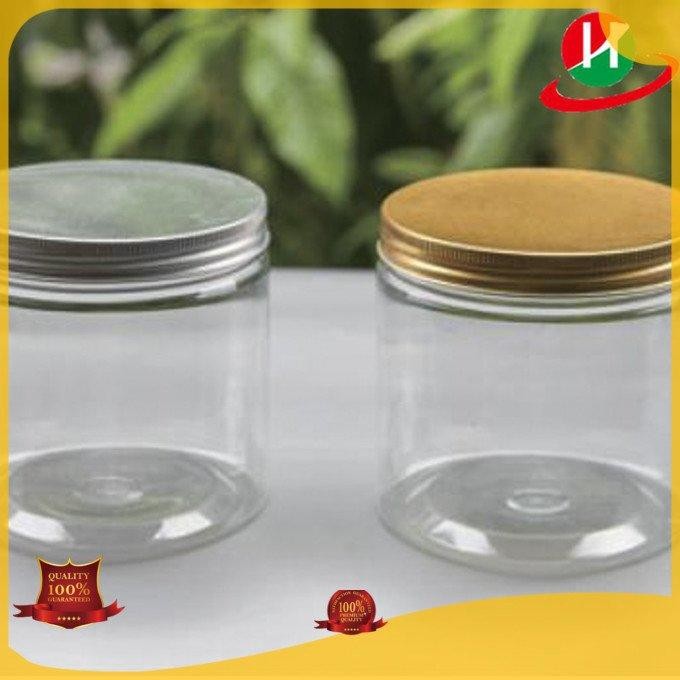 plastic jars with lids ps HoChong Brand