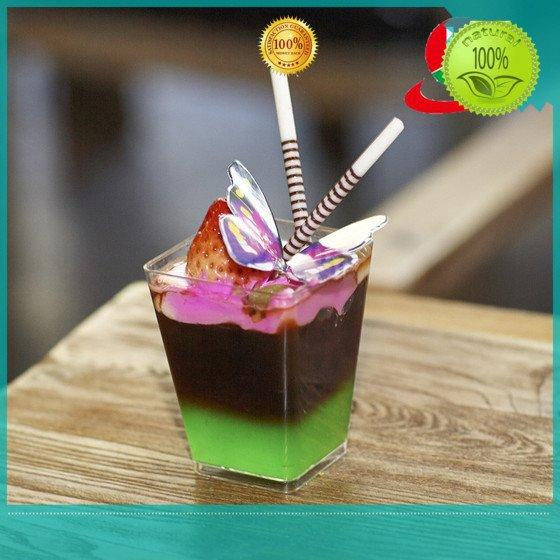 Hot plastic dessert cups coffee HoChong Brand