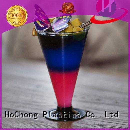plastic cups with lids disposable reusable wine 3oz HoChong