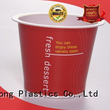 HoChong clear plastic dessert cups with lids plastic different oz