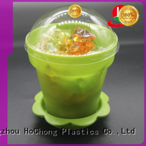 plastic cups for wedding optional assorted flower HoChong