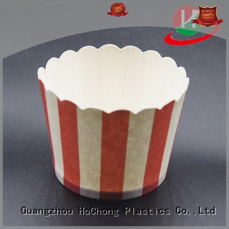 Custom muffin baking cups pan bakery case
