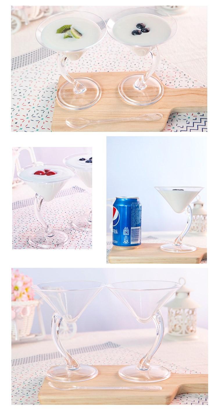 HoChong-Bulk Plastic Wine Goblets Bulk Manufacturer, Plastic Wine Glasses Walmart-4
