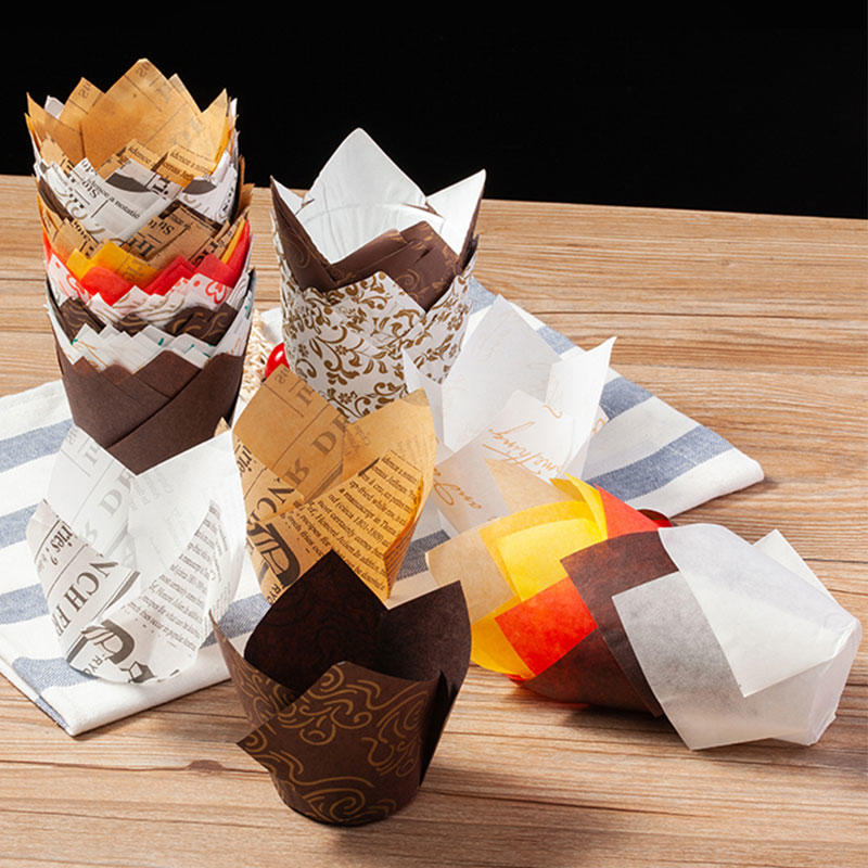 Loaf Tin Liners with High Quality paper cases for cupcakes muffin cups