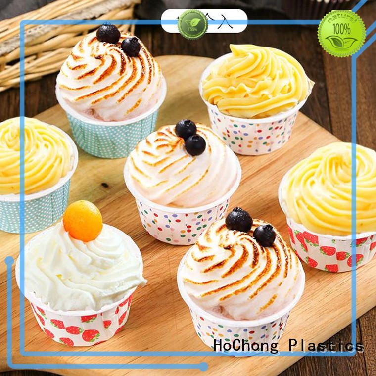 HoChong anti-oil cupcake wrapping paper with elegant cupcake liners for cakes