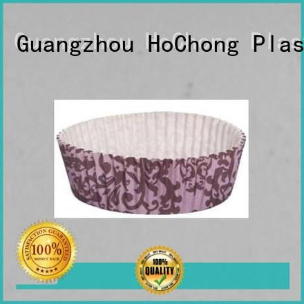 HoChong disposable black and white cupcake wrappers recyclable for birthday