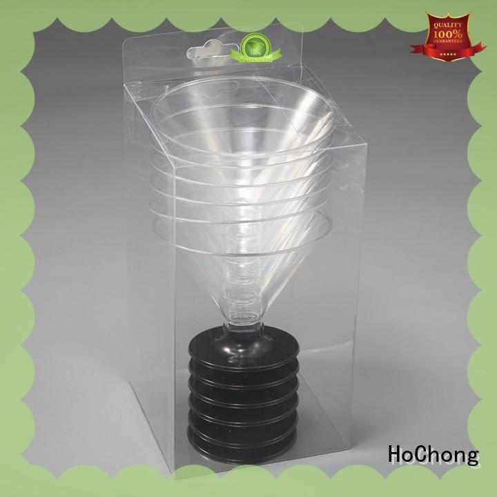 HoChong safety plastic party cups fit your needs for holiday party
