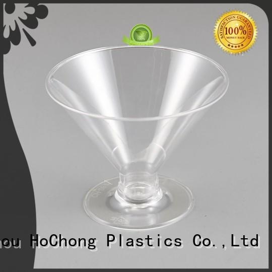 HoChong wonderful plastic party glasses stem for family gathering