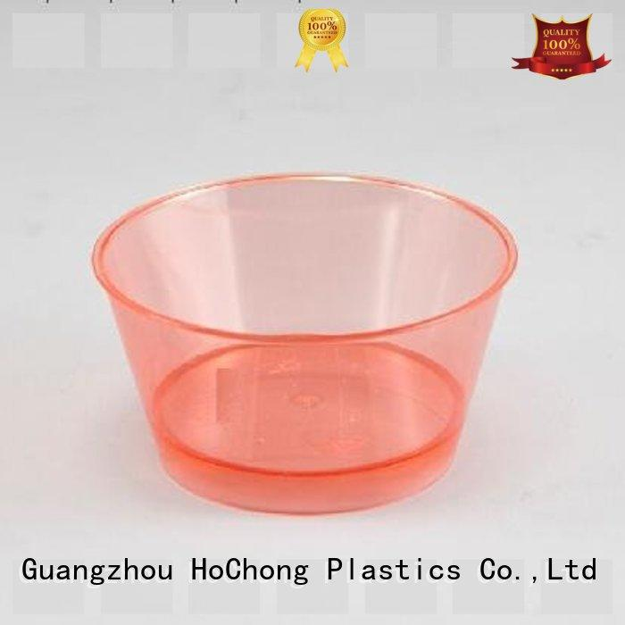 HoChong available mini plastic dessert cups wholesale with octagonal style for new year's eve