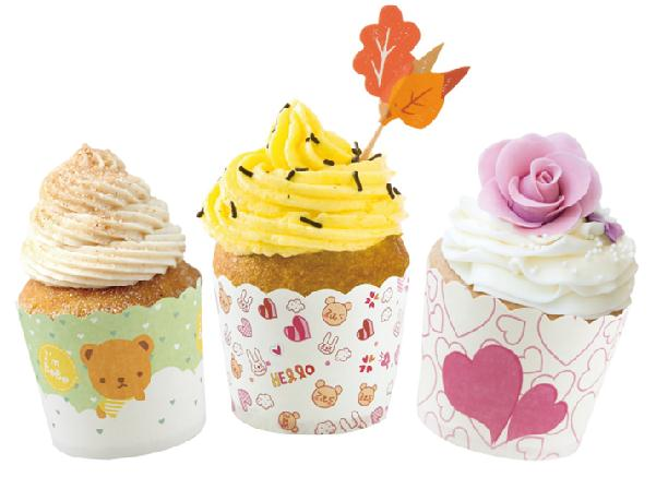 HoChong-Round Food Grade Material Cake Baking Paper Cup Fit Wedding Home Party