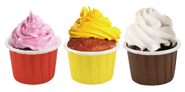 HoChong-Multi-size Paper Cupcake Liners Baking Cake Muffin Cup | Kit Cocktail |
