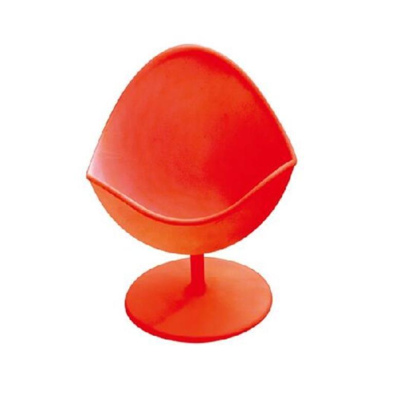 77ml Unique Chair Design Ice Cream Cup Mousse Pudding Plastic Cup Four Color Choice