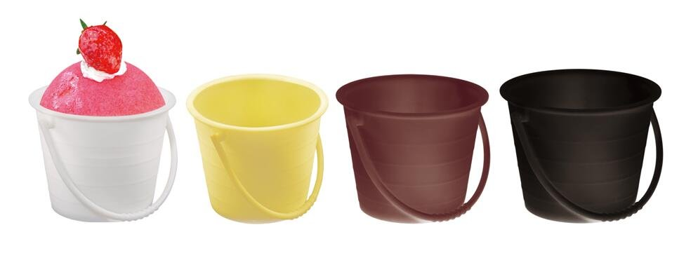 HoChong-Find Unique Bucket Design Ice Cream Bowls High Quality Dessert Cups