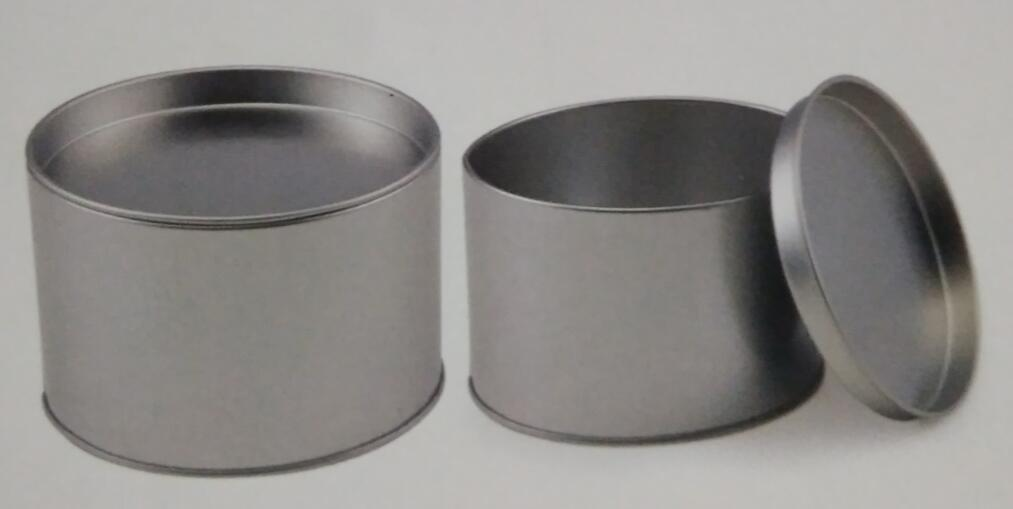 13OZ Tin Box Small Cake Bowls Parfait Cups With Transparent Lid
