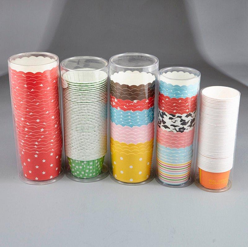 HoChong shrink plastic cups paper packing