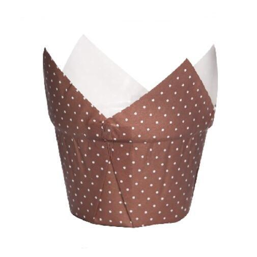 Premium Tulip Pudding Muffin Wraps Cases Cups Easy Bake Wedding Party
