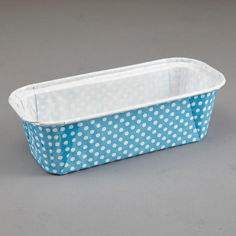 Rectangle Disposable Ripple Wall PET Film For Baking Bread Cupcake Tray Food Packing