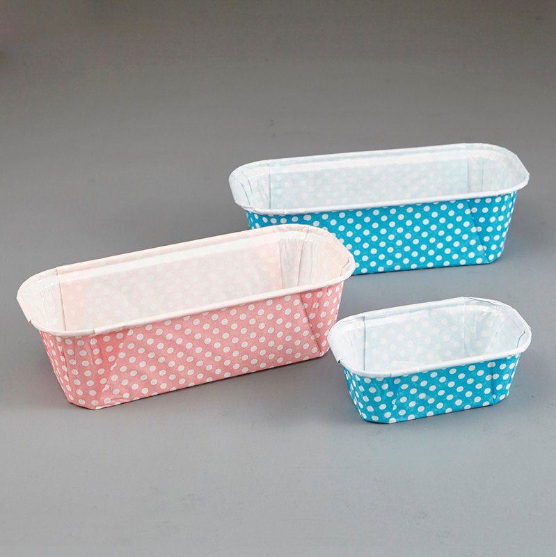 HoChong-Best Rectangle Disposable Ripple Wall Pet Film For Baking Bread Cupcake