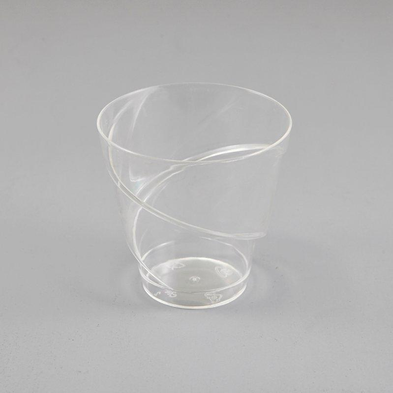 Spiral Plastic Ice Cream Cups Bowls Party Cup Novelty