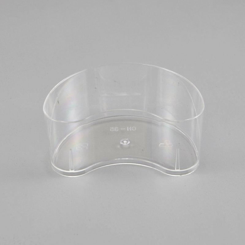 Moon Style Mousse Cake Dessert Cups Clear Plastic Jelly Cup Party