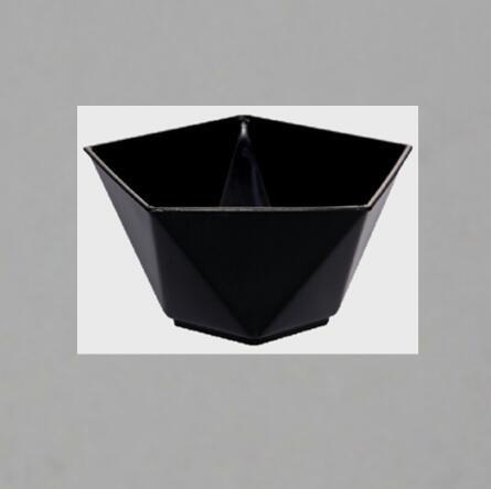 Pentagram Style Clear Plastic Dessert Cups Mousse Jelly Cup Wedding