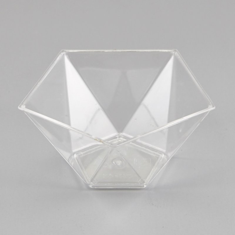 HoChong-Best Pentagram Style Clear Plastic Dessert Cups Mousse Jelly Cup-2
