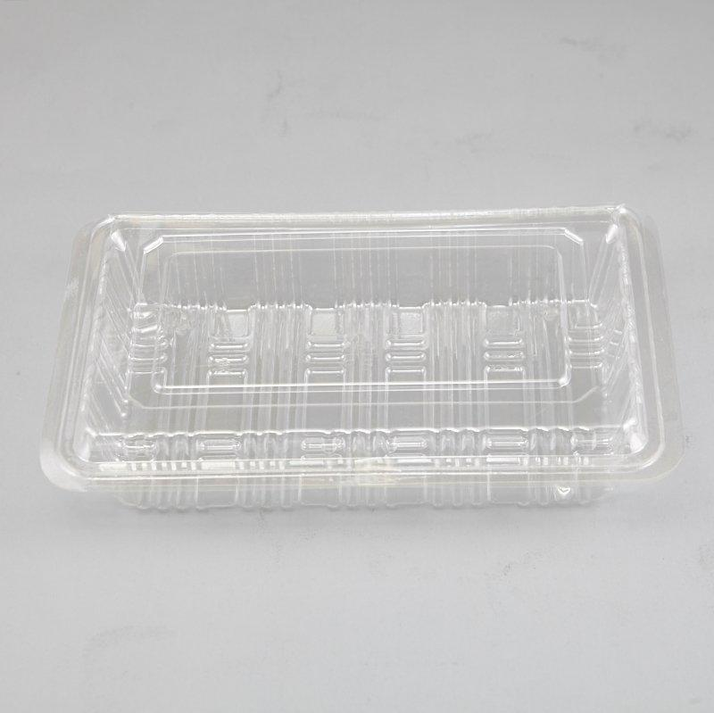 Plastic Clear Box For Food Cake Muffin Pastry Salad Mix Packing Case