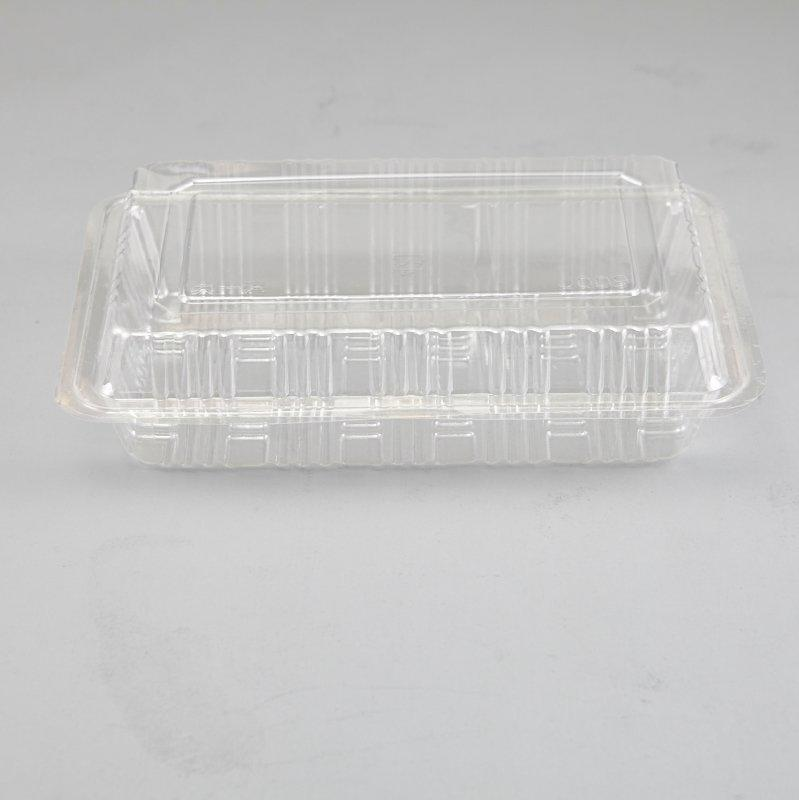 Plastic Disposable Clear Snack Salad Box  Clear Cake Slice Container