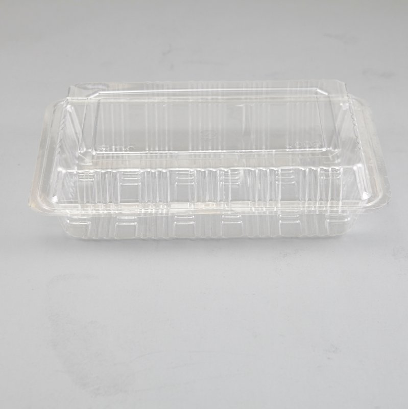 HoChong-Plastic Disposable Clear Snack Salad Box Clear Cake Slice Container | Plastic