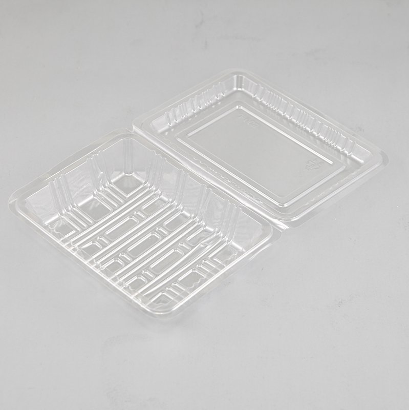 HoChong-Professional Plastic Jar Set Clear Cake Pie Tart Slice Wedge Boxes Hinged