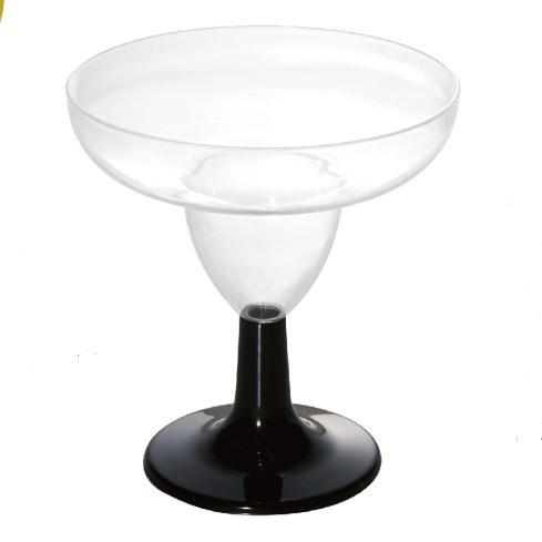 3OZ Mini Crystal Clear Disposable Mini Plastic Appetizer Glasses Margarita Glasses Partyware