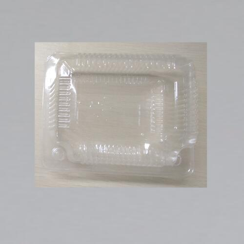 Plastic  Food Collection Container  Cake Storage Box With Clear Lid