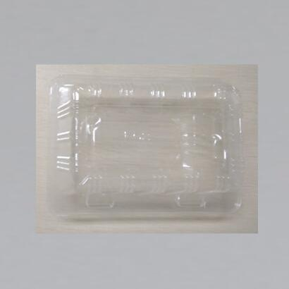 BPA-Free Plastic Pie Cake Container Slice Hinged Lid Clear Storage Box