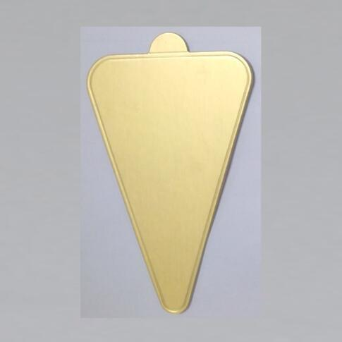 Triangle Paper Cake Tray  Cake Tool  For Dessert Shop Party