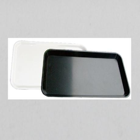 Round Corner Design Small Size Impact Resistance Crack Restaurant Tray More Color Choice