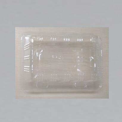 HoChong-High Quality Bpa-free Plastic Pie Cake Container Slice Hinged Lid Clear