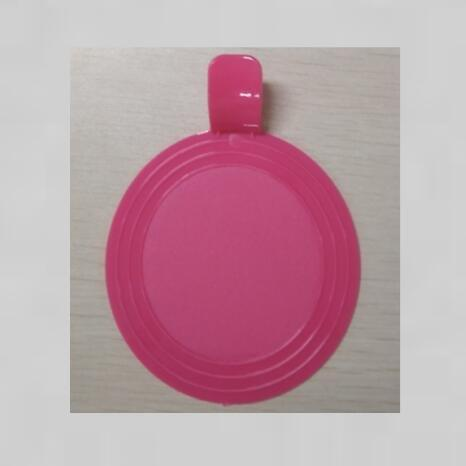 Round Plastic Cake Collection Tray For Cake Shop Party
